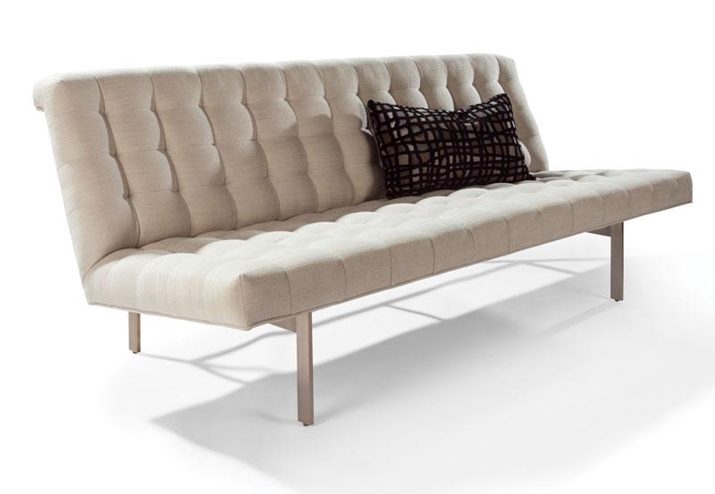 Thayer Coggin 1315 300 B Wright Armless Sofa By Milo Baughman