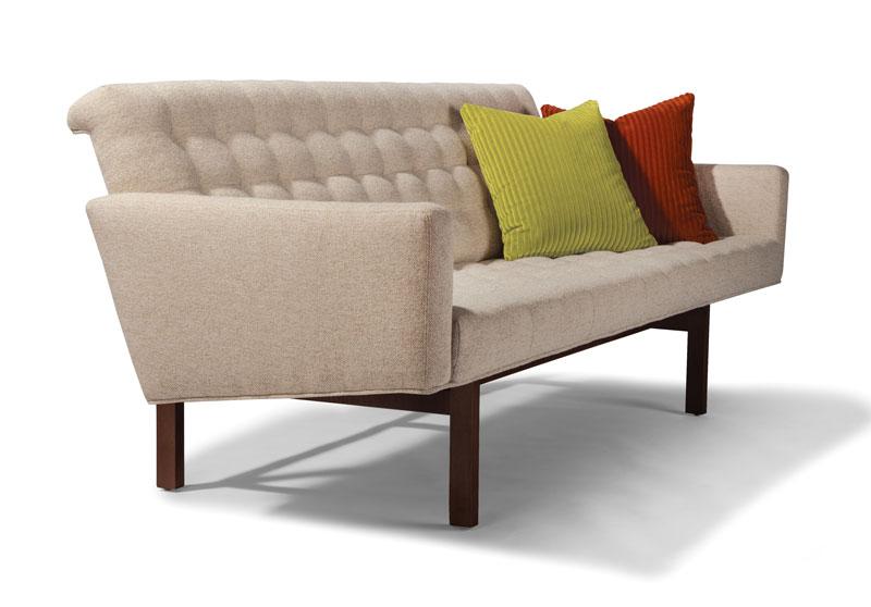 Thayer Coggin 1337 303 Kevin Sofa By Milo Baughman. Throw Pillows Shown Are  Optional