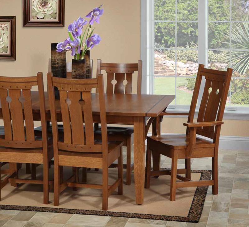 Grande Mesa Table Ohio Hardwood Furniture