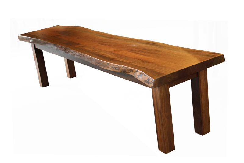 Live Edge Table Ohio Hardwood Furniture