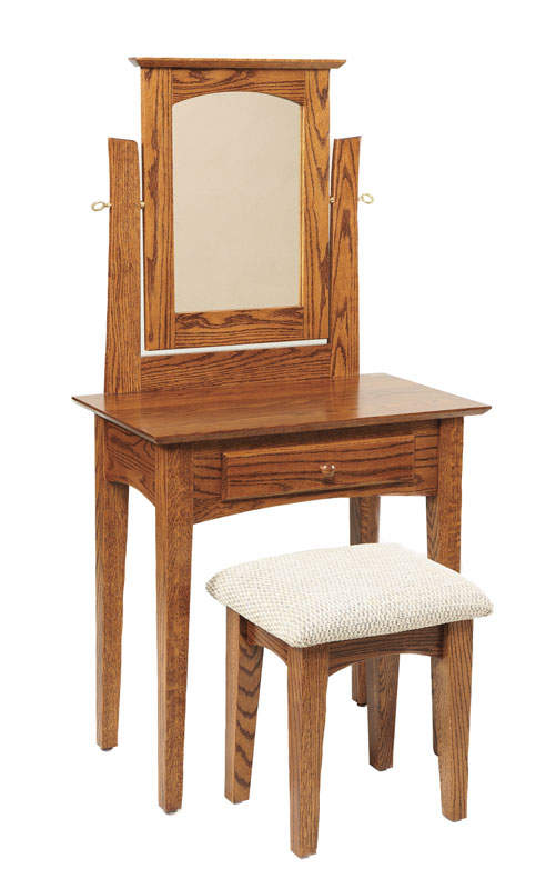 29.5 Inch Shaker Dressing Table