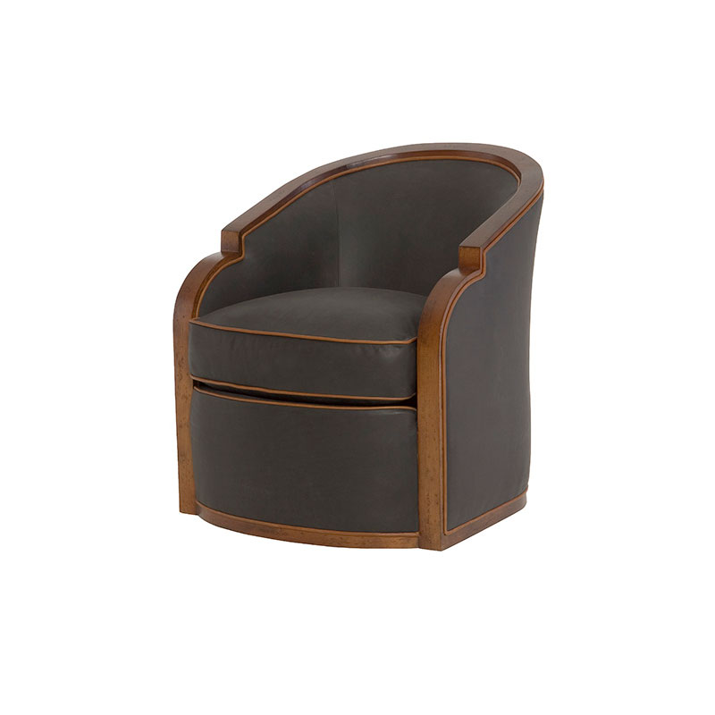 Wesley Hall PL608 Gracious Swivel Chair