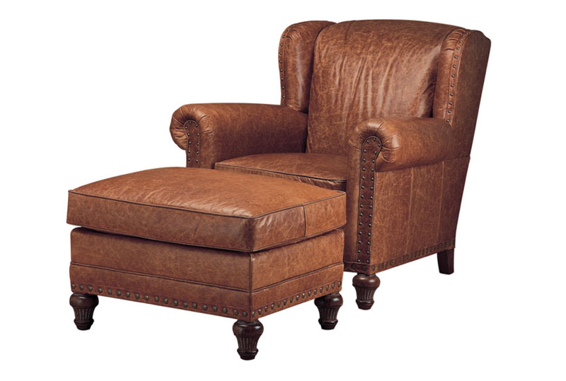 Wesley Hall L7006 Leopold Chair And L7006 29 Ottoman
