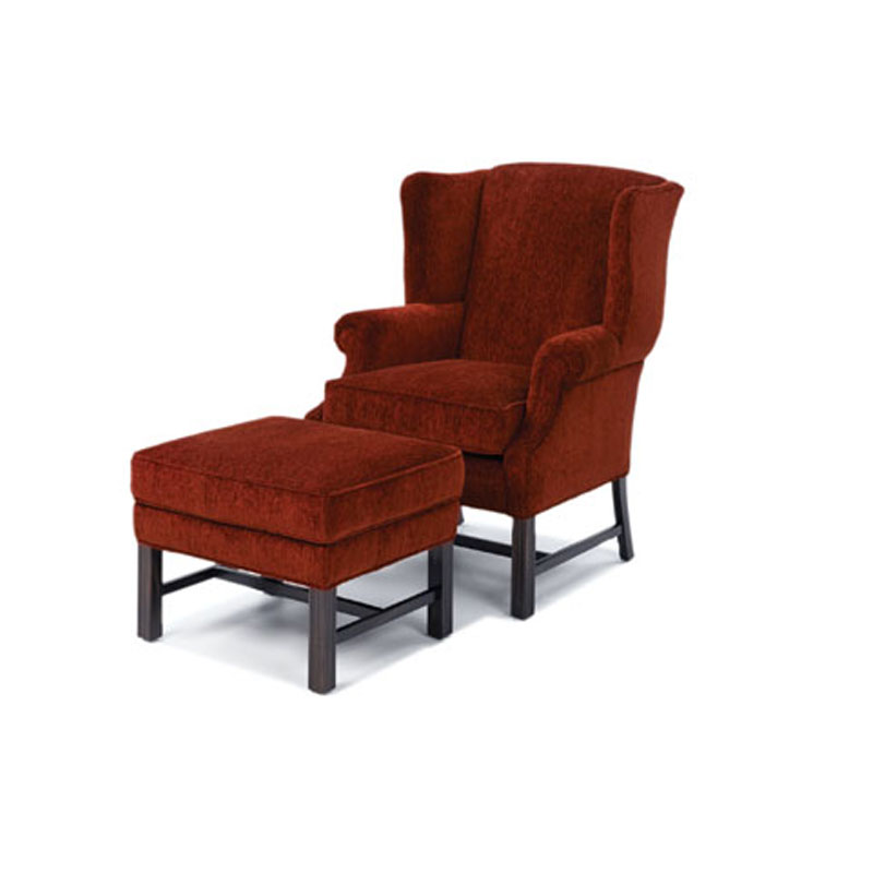 Wesley Hall 953 Hampstead Chair And 953 22 Hampstead Ottoman