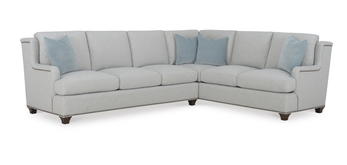 Wesley Hall 2056 Macintosh Sectional