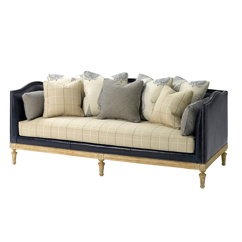 Charmant Wesley Hall L8128 84 Camden Sofa