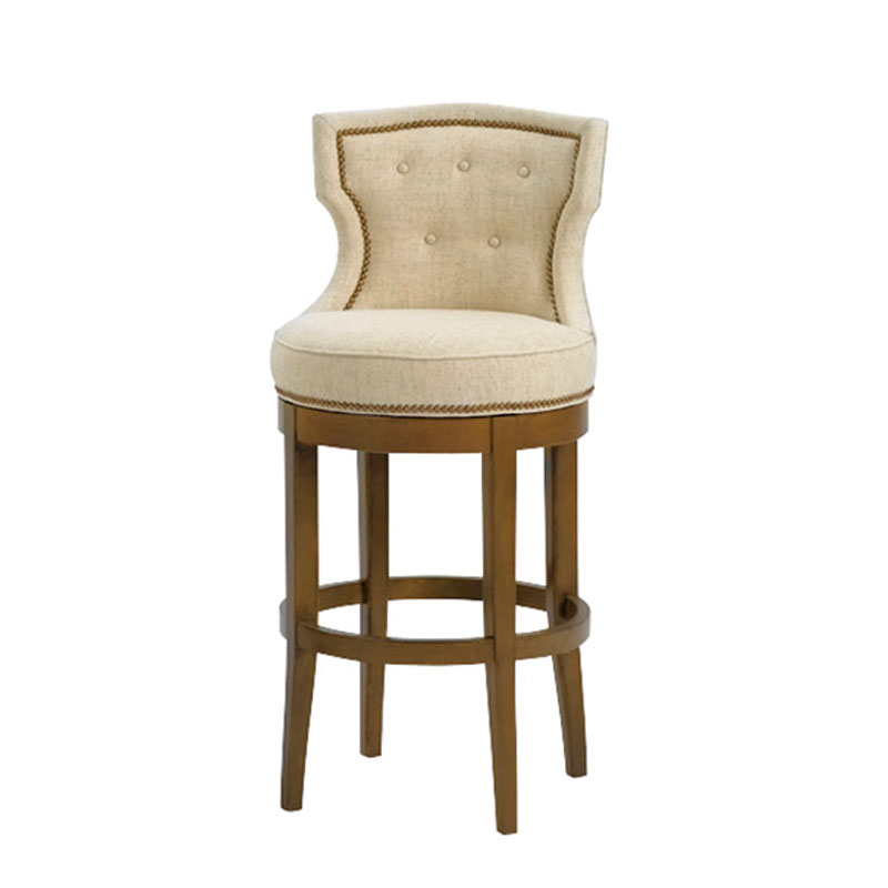 Wesley Hall 5012-BS Charlotte Bar Stool