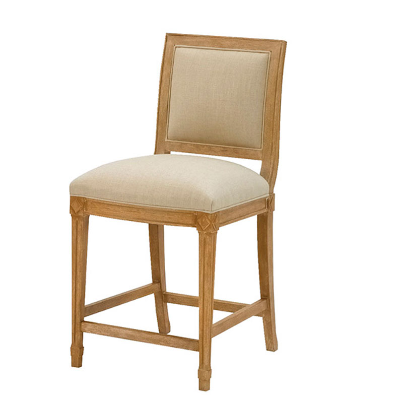 Wesley Hall 5014-BS Hollis Bar Stool