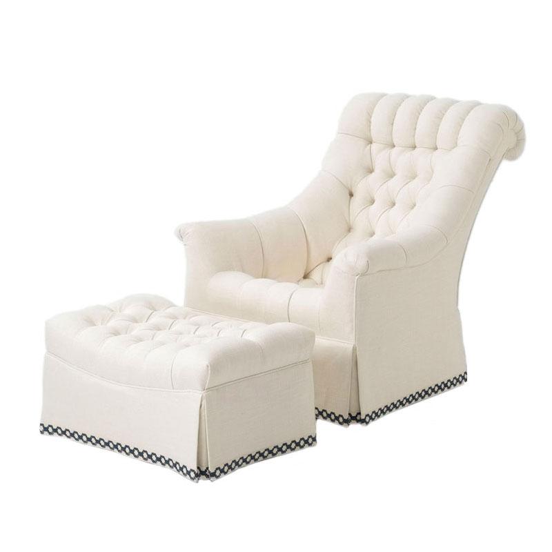 Strange Wesley Hall 642 Lancaster Chair And 642 30 Lancaster Ottoman Uwap Interior Chair Design Uwaporg