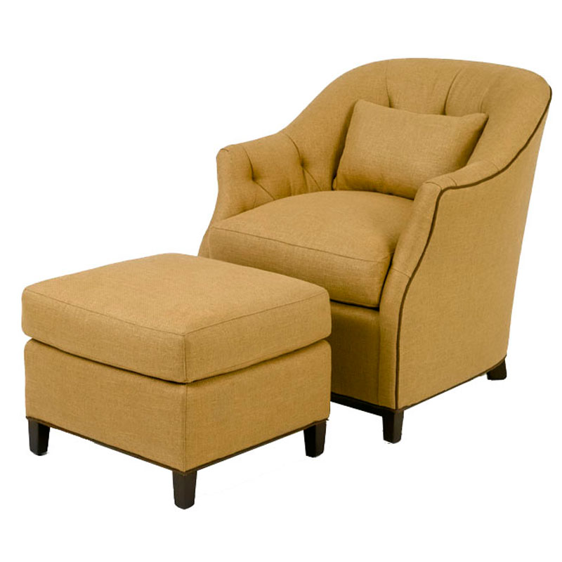 Wesley Hall 682 Beckett Chair And 682 22 Beckett Ottoman