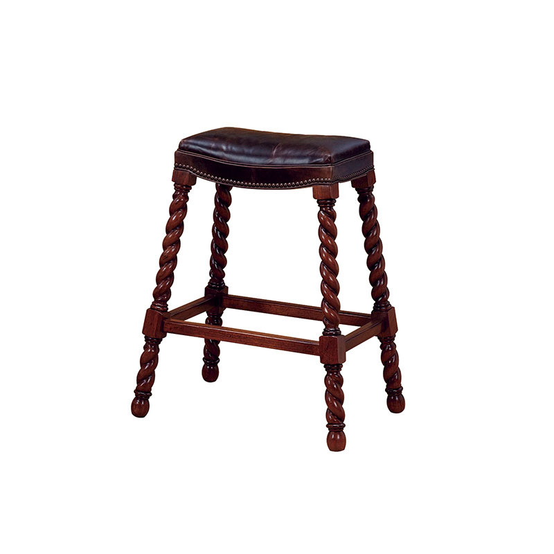 Wesley Hall L5001-BS Raleigh Bar Stool