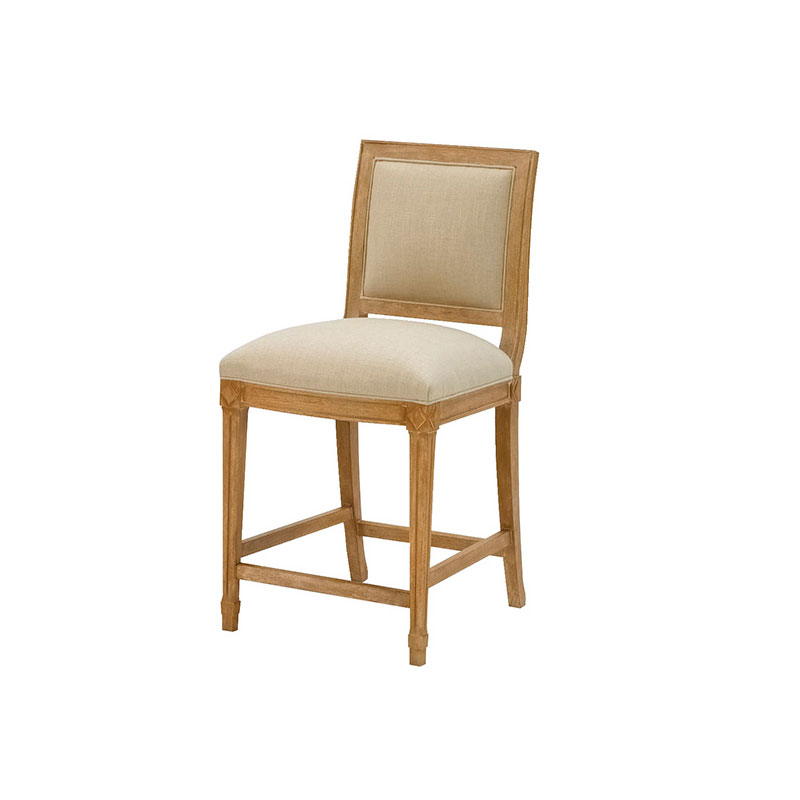 Wesley Hall L5014-BS Hollis Bar Stool