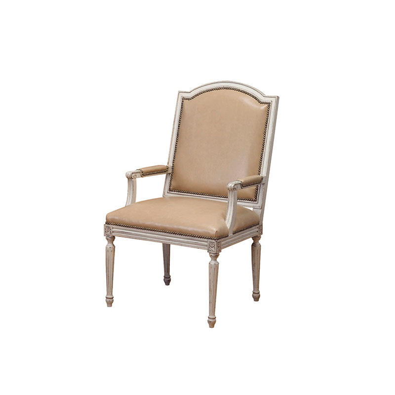 Wesley Hall L7079-A Maxis Arm Chair