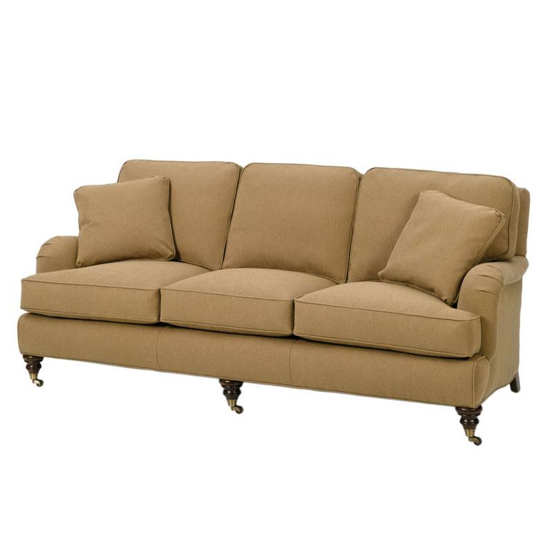 Wesley Hall 1662 85 Reagan Sofa Ohio Hardwood Furniture