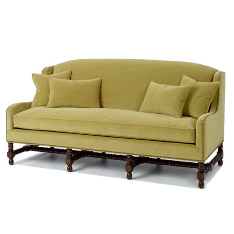 Wesley Hall 1900 82 Ellis Sofa Ohio Hardwood Furniture