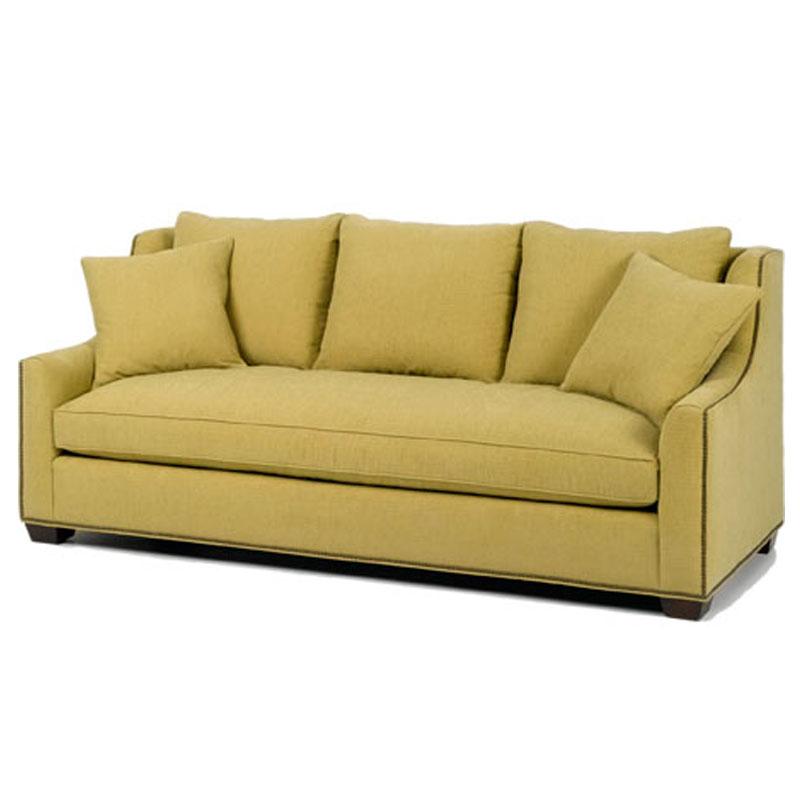 Wesley Hall 1904 89 Barrett Sofa Ohio Hardwood Furniture