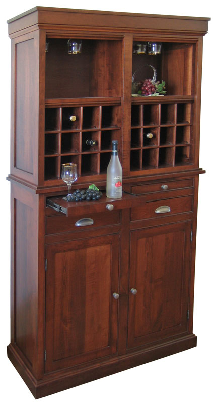 2 Door Wine Hutch
