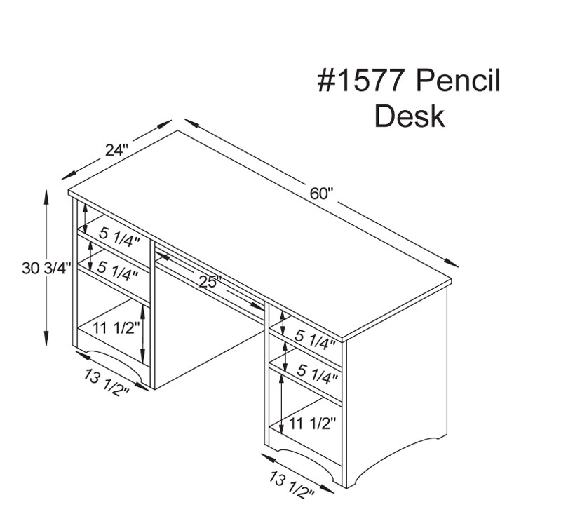 Desk Drawer Dimensions Pictures To Pin On Pinterest