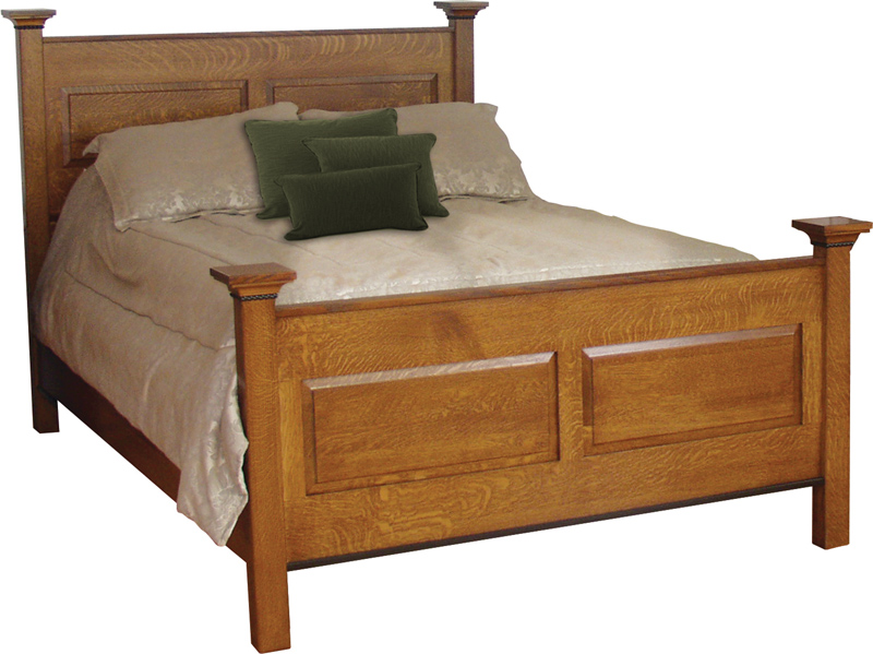 Brookstone Queen Bed (482)