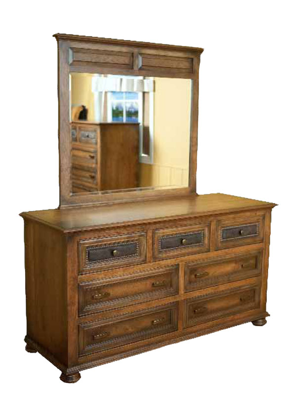 Canyon Creek Dresser with Beveled Mirror (sold separately)