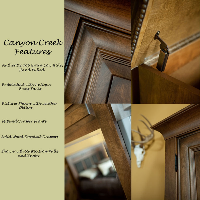 Canyon Creek Features