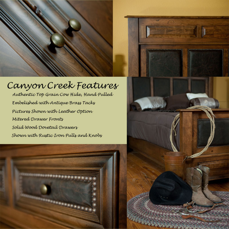 Canyon Creek Collection Features
