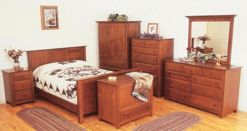 Crafters Shaker Bedroom Furniture Plans