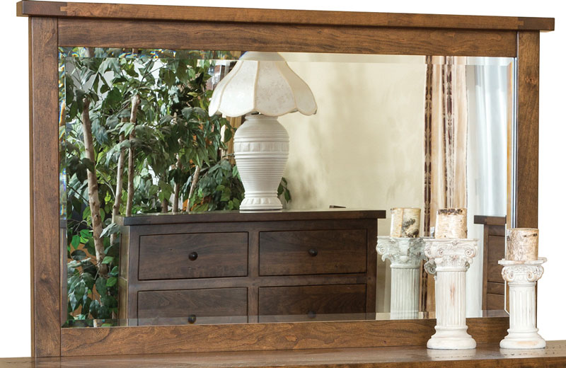 Timber Mill Beveled Mirror