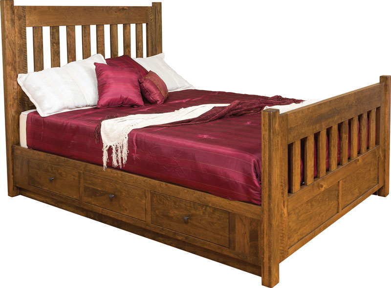 Timber Mill Bed