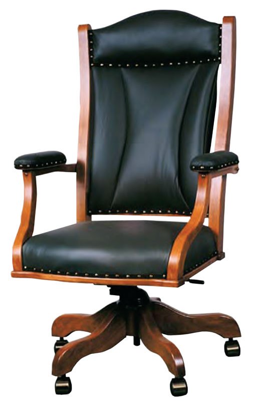 Office Desk Chair (Padded Arms)