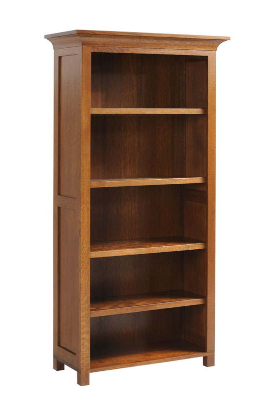 "72"" Mission Bookcase"