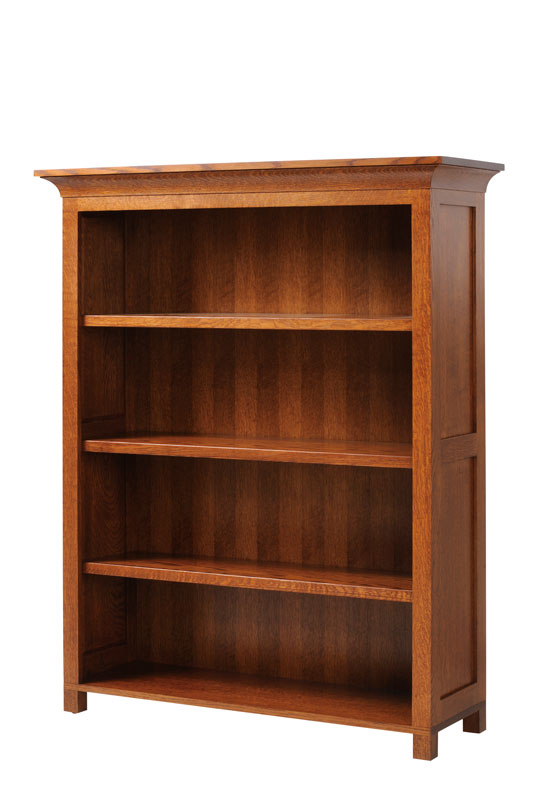 48 inch Wide Mission Bookcase