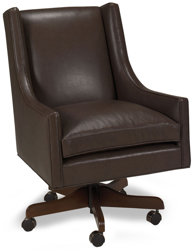 Dexter Tilt Swivel Chair 272 in Corona Tabacco Leather.  Finish Shown in Cave Creek.