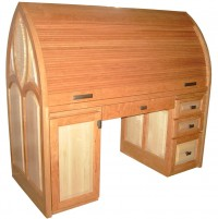 Cathedral Roll Top Desk