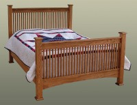 Troyer Ridge Mission Bed