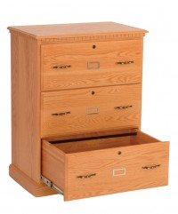 Heirwood 3 Drawer Lateral File Cabinet