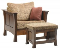 Woodbury Chair and Ottoman