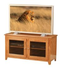 Economy Two Glass Door TV Stand