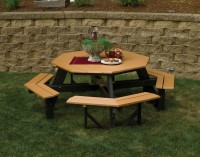 Octagon Poly Picnic Table