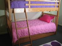 Bunky Box Spring and Foam Mattress for Bunk Beds