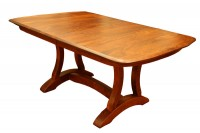 Richfield Double Pedestal Table