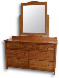 Country Mission Double Dresser