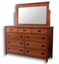 Country Mission Tall Dresser