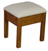Country Mission Vanity Stool
