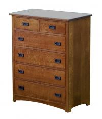 Empire Mission 6-Drawer Chest