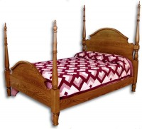 Traditional Arch Poster Bed