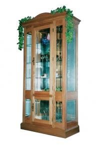 Large Flat Wall Curio