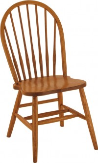 7 Spindle Bowback Chair