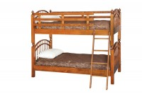 Double Bow Bunk Bed