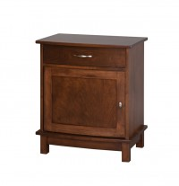 Arch 1 Door 1 Drawer Night Stand